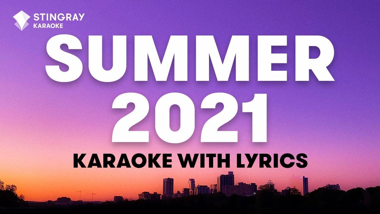 1 HOUR NON STOP SMASH HITS: BEST SONGS of 2021   Karaoke with Lyrics presented by @Stingray Karaoke