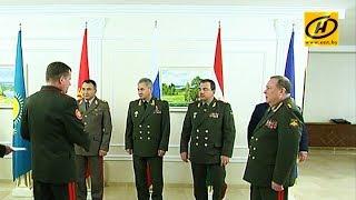 Заседание Совета министров обороны государств членов ОДКБ проходит в Минске