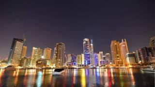 Dubai Marina - Time Lapse