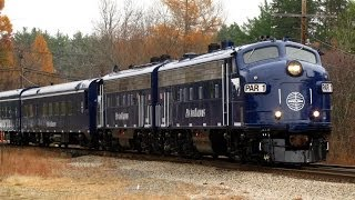 HD Pan Am Railways action at Plaistow,NH  Early October 2013