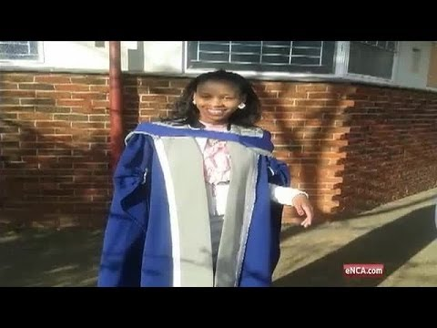 South Africa's youngest black female doctor tells matrics to live their dreams.