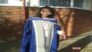 SA's youngest black female doctor tells matrics to live their dreams