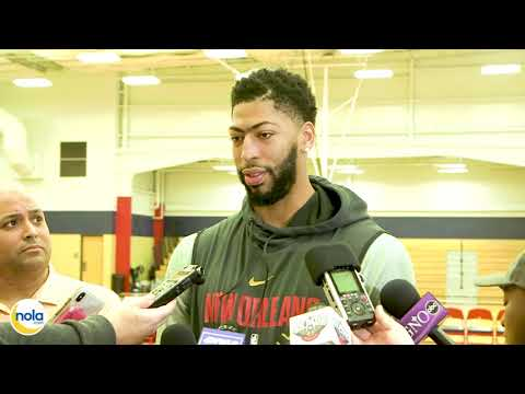 Anthony Davis on Feb. 1st when asked if he demanded New Orleans trade him to the Lakers: