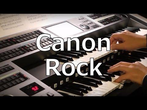「Canon Rock」JerryC エレクトーン演奏(STAGEA ELS-02C)Electone Takuya Kimura