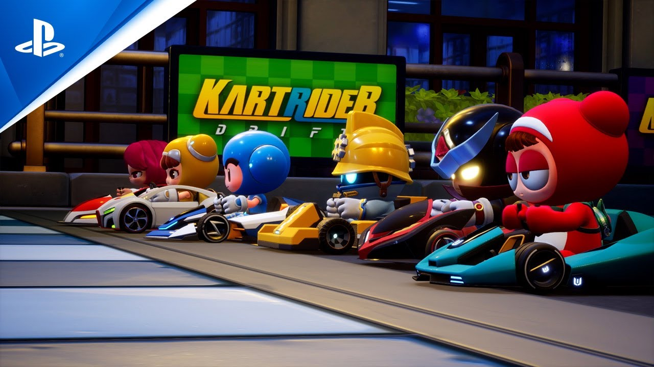KartRider: Drift - State of Play Oct 2021 Gameplay Trailer   PS4