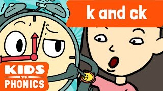 K and CK | Similar Sounds | Sounds Alike | How to Read | Made by Kids vs Phonics