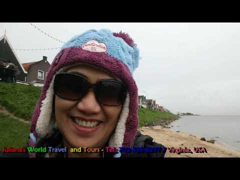 JWTT: The Western Europe Tour-Strolling In Volendam Fishing Village, The Netherlands November 2017