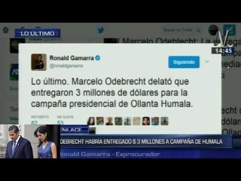 Marcelo Odebrecht confirmó entrega de US$3 millones a Ollanta Humala para campaña presidencial