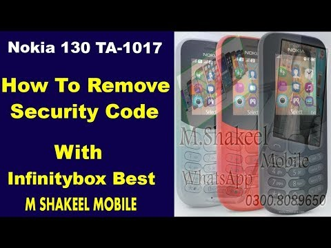 nokia 130 new TA-1017 password remove 100% working !! by m shakeel