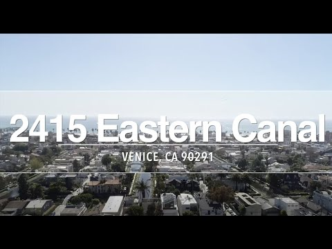2451 Eastern Canal  Venice CA no VO
