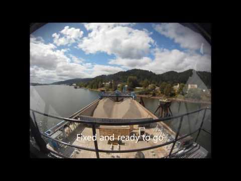 Inland Conveyor 8000 ton Rock Barge