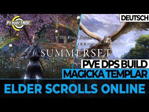 ESO - Magicka Templer: PVE DPS Build für Summerset (Deutsch)