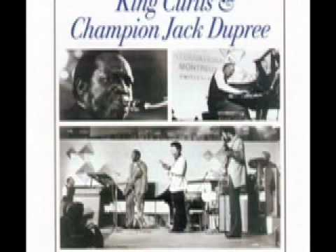 Champion Jack Dupree & King Curtis: Junker's Blues (live @ Montreaux 6.17.71)