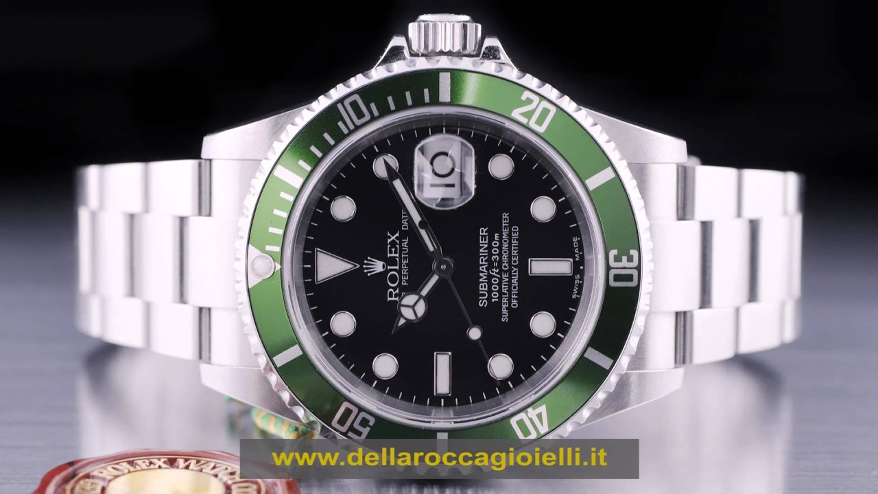 l'ultimo bbd4e 8b28a Rolex Ghiera Verde Rolex Submariner Ghiera Verde Ceramica Submariner Nuovo  Usati Costo
