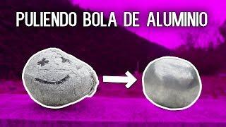 PULIENDO BOLA DE PAPEL DE ALUMINIO!! HASTA DEJARLA PERFECTA [bytarifa]