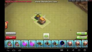 Clans of clans 5. KS ilk için köy düzeni