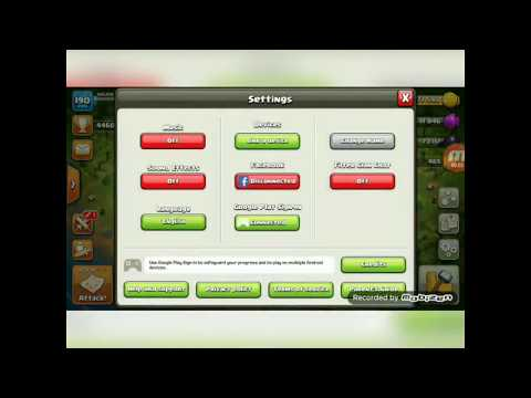 First Video How To Change Local Location Of Coc