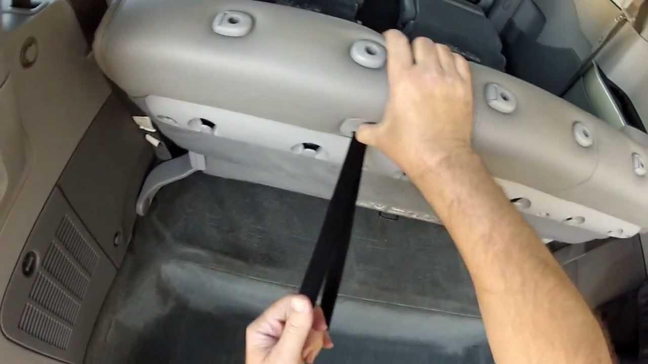 Folding Seats Of My 2006 Nissan Quest Se L Mint Condition