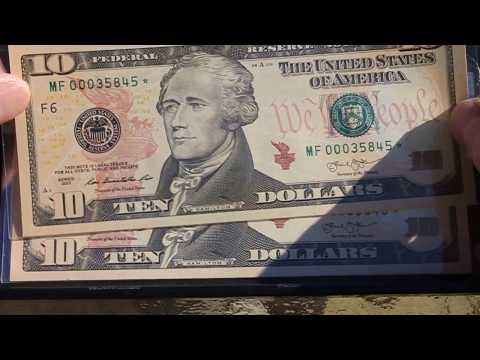 $$$ Valuable $$$ Star Note $10 Bill Found Extremely Rare.