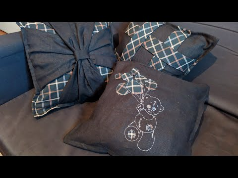 Мастер класс подушки на диван своими руками мастер класс фото