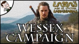 Uthred Pushes To Jorvik! Age of Vikings Total War (Attila Mod) Wessex Campaign Part 4