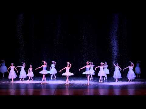 5) San Benito Dance Academy Nutcracker 2013 BC: Snow Scene - Angels on the Mountain of Sweets