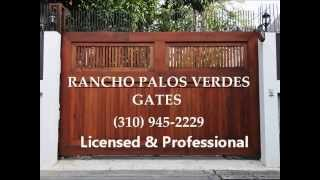 Design Your Own Gate (310) 945-2229 Free Estimate