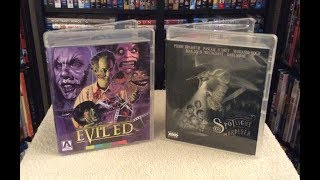 Evil Ed / Spotlight on a Murderer BLU RAY UNBOXING/Review - Arrow