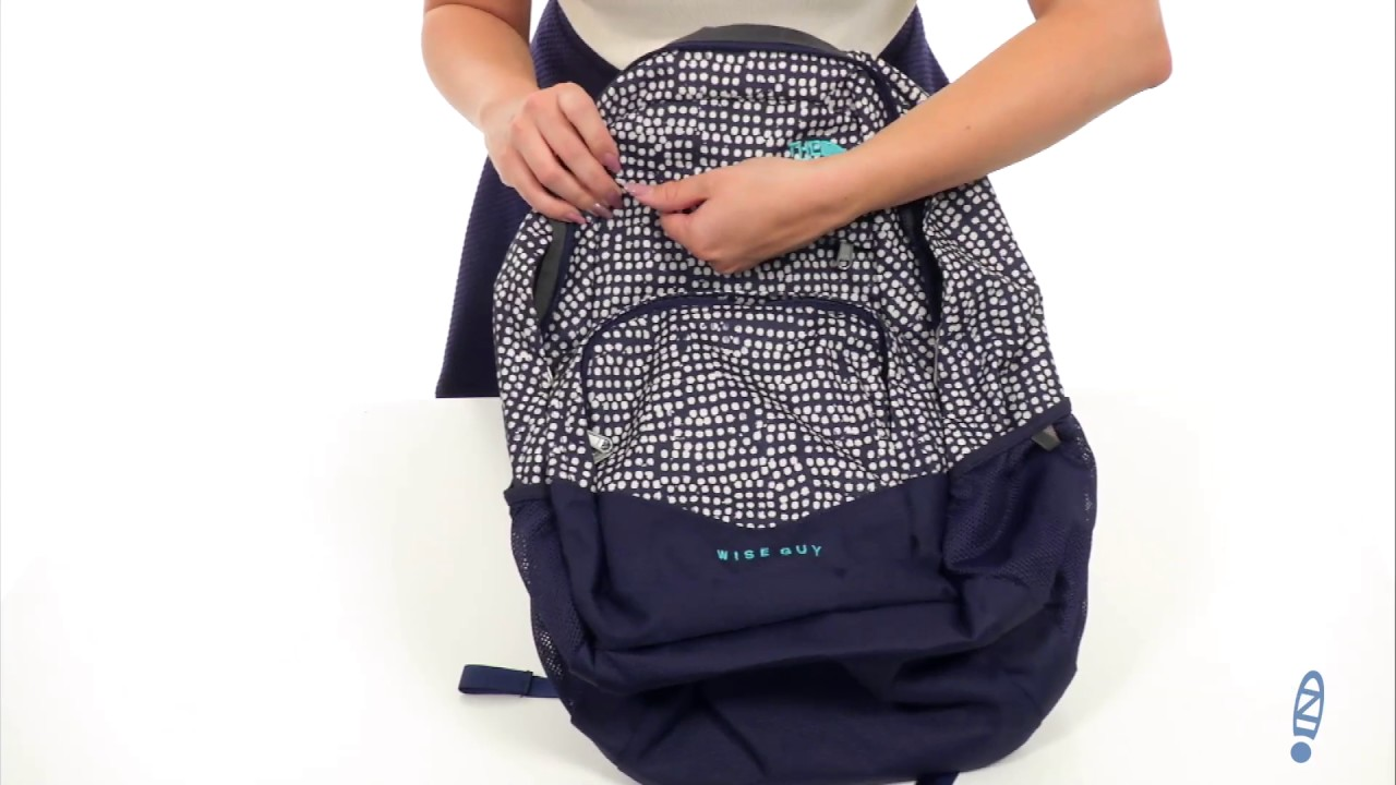 The North Face Wise Guy Backpack SKU 8719298 - YouTube 1fe706db07ee9