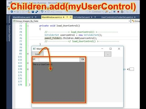 WPF Add UserControl at Runtime