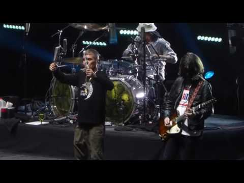 """Waterfall & Dont Stop"" The Stone Roses@Madison Square Garden New York 6/30/16"