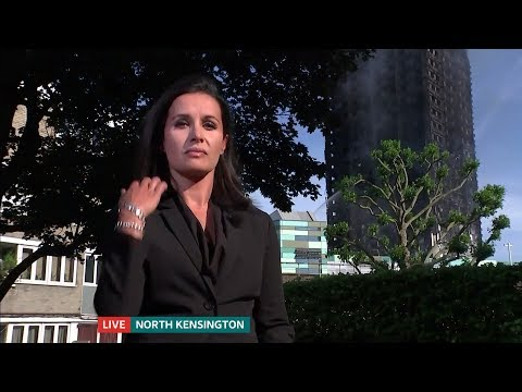 Grenfell Tower Fire: ITV News London 1800 14.6.2017