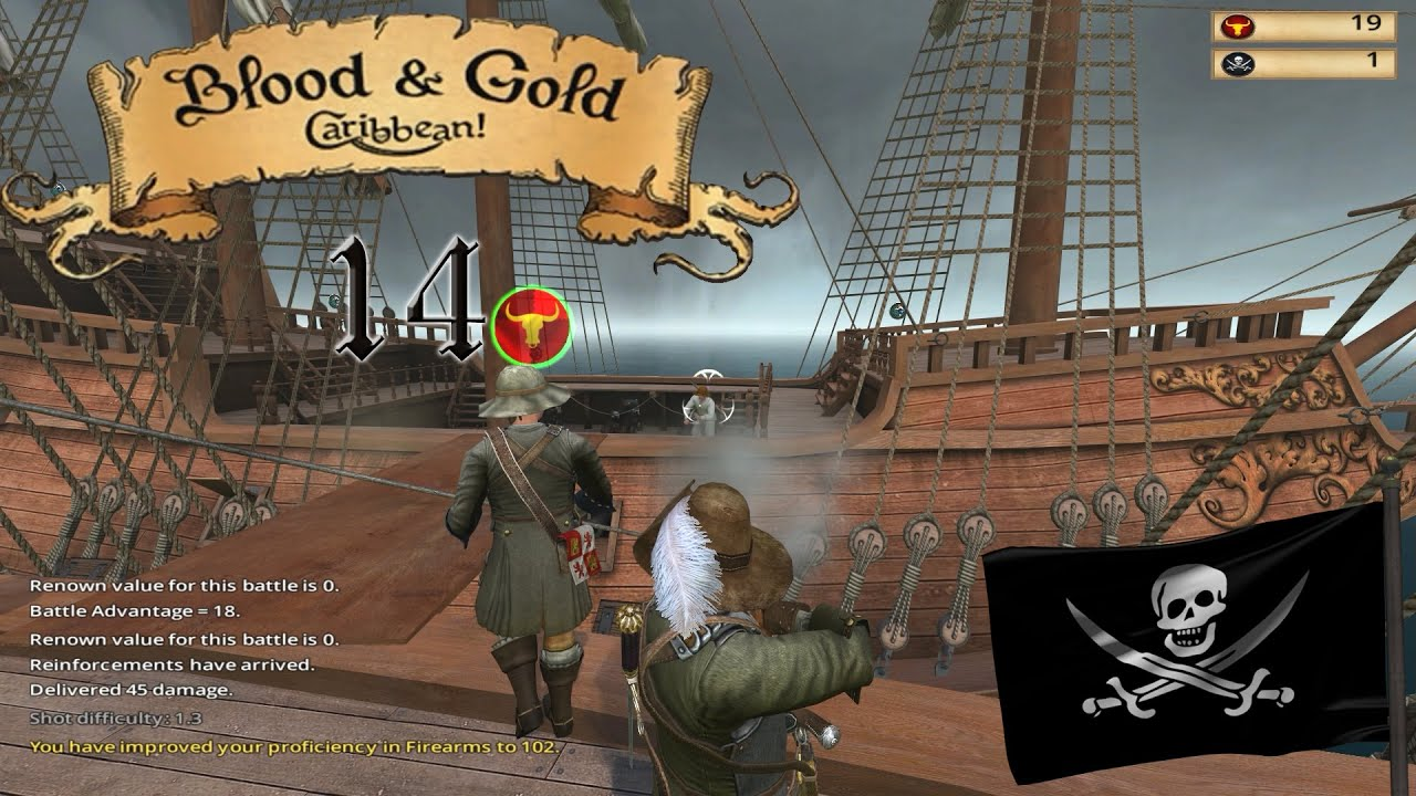 blood and gold caribbean how to get gunners