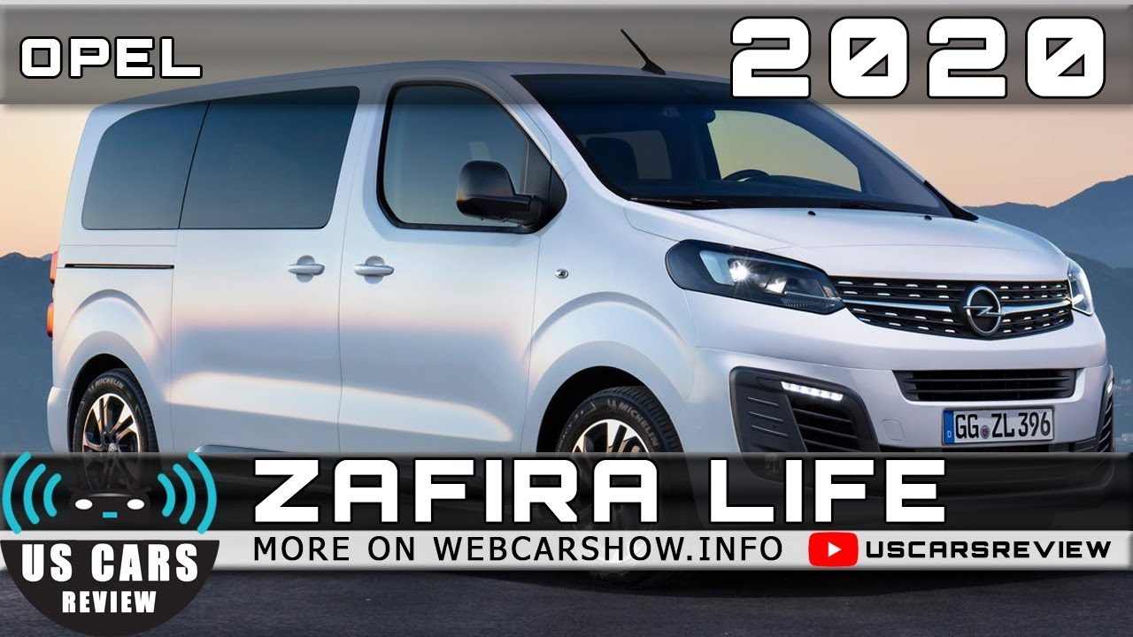2020 Opel Zafira Life Review Release Date Specs Prices Youtube