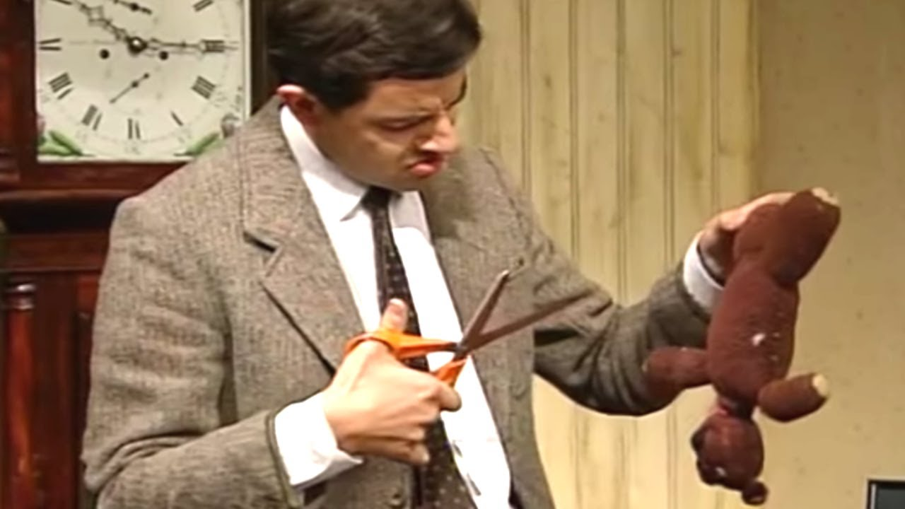 Download Don't Cut Teddy! | Funny Clips | Mr Bean Official