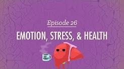 Emotion, Stress and Health: Crash Course Psychology #26