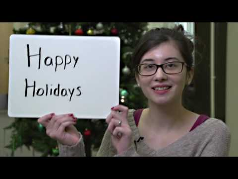 """What do the holidays mean to you?"" CCRI 2016 Holiday Card"