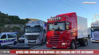 Marseille : après une journée de blocage, les forains ont été entendus