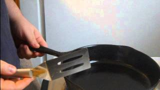 """Cast Iron Care (Cleaning) """" A well seasoned pan"""""""