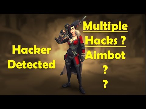 Paladins Hacker Detected - AimBot Tyra Hacker with Multiple