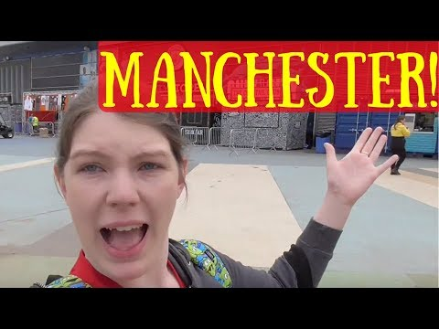 Follow Me Around Manchester - Taylor Swift & Hostel Room Tour! | Kate's Adventures