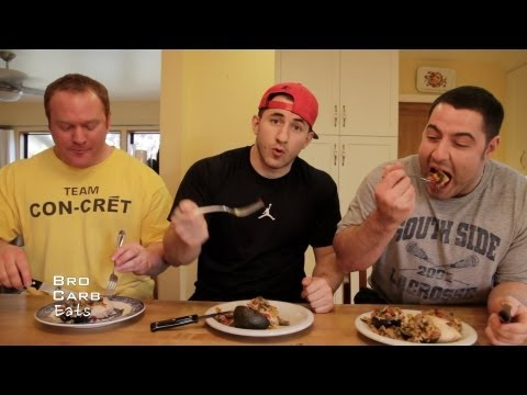 Crab-stuffed Chicken Breasts (with Bacon) | Bro Carb Eats | SuperTraining.TV