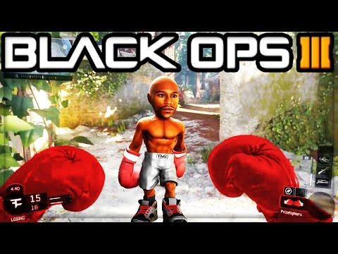 BOXING GLOVES GAMEPLAY!! - BLACK OPS 3 NEW DLC WEAPON (BO3 BOXING GLOVES)