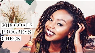 Get Ready With Me: 2018 Goals 6 Month Check In || Patricia Kihoro