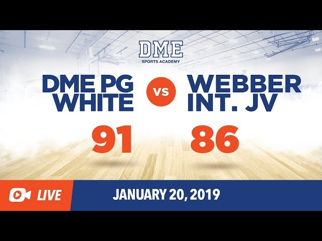 DME PG White vs Webber International Game 2