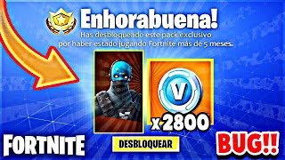 *NEW BUG* HOW TO GET FREE SKIN IN FORTNITE HOW TO HAVE FREE PAVOS IN FORTNITE (PS4/PC)
