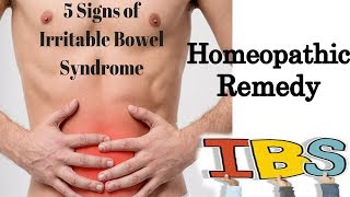 Irritable bowel syndrome (IBS) - Discussion and Treatment in Homeopathy Dr P.S. Tiwari