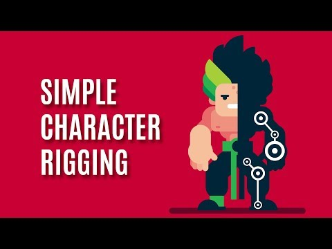 SIMPLE Character Rigging - After Effects and Duik 16 ( Bassel ) Tutorial thumbnail