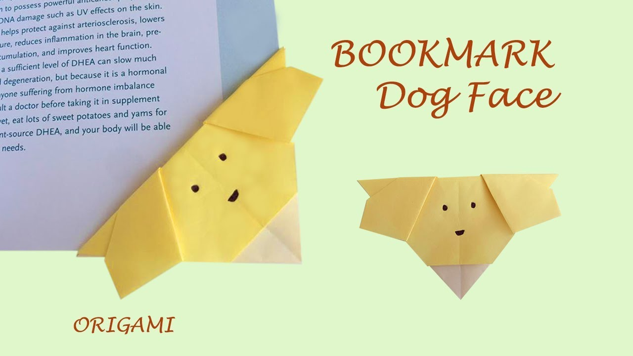 Easy Origami Puppy Face Instructions | 720x1280