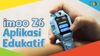 imoo Z6 - Giveaway - Review Aplikasi Edukatif di imoo Watch Phone Z6 Frozen II Limited Collection